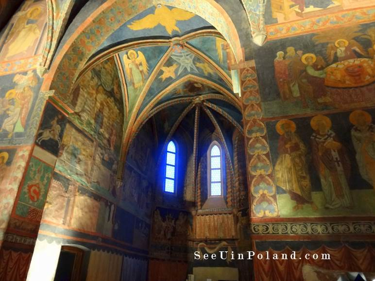 lublin atrakcje kaplica św. trójcy