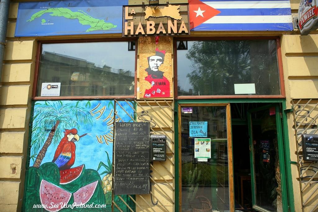 witryny kraków la habana