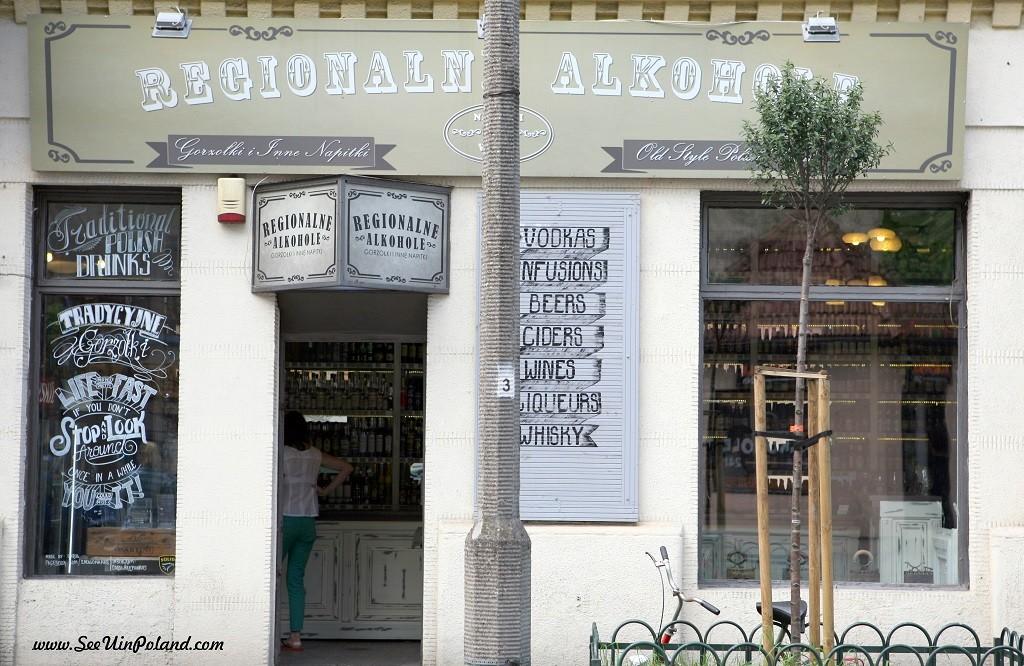 witryny kraków regionalne alkohole