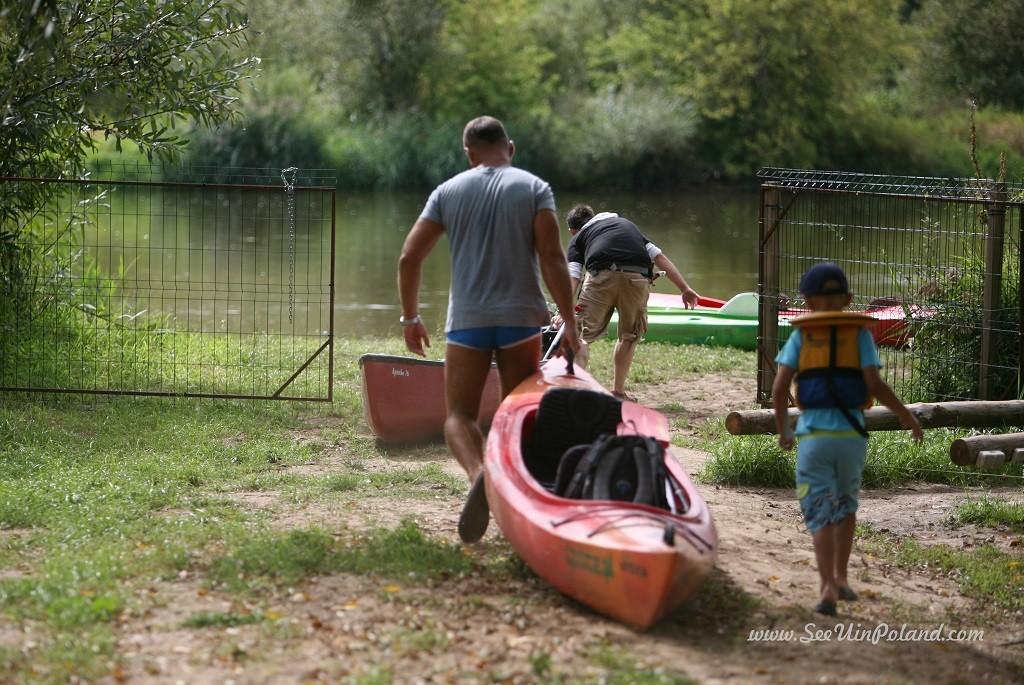 warka pilica kajaki napilice.pl canoeing in poland
