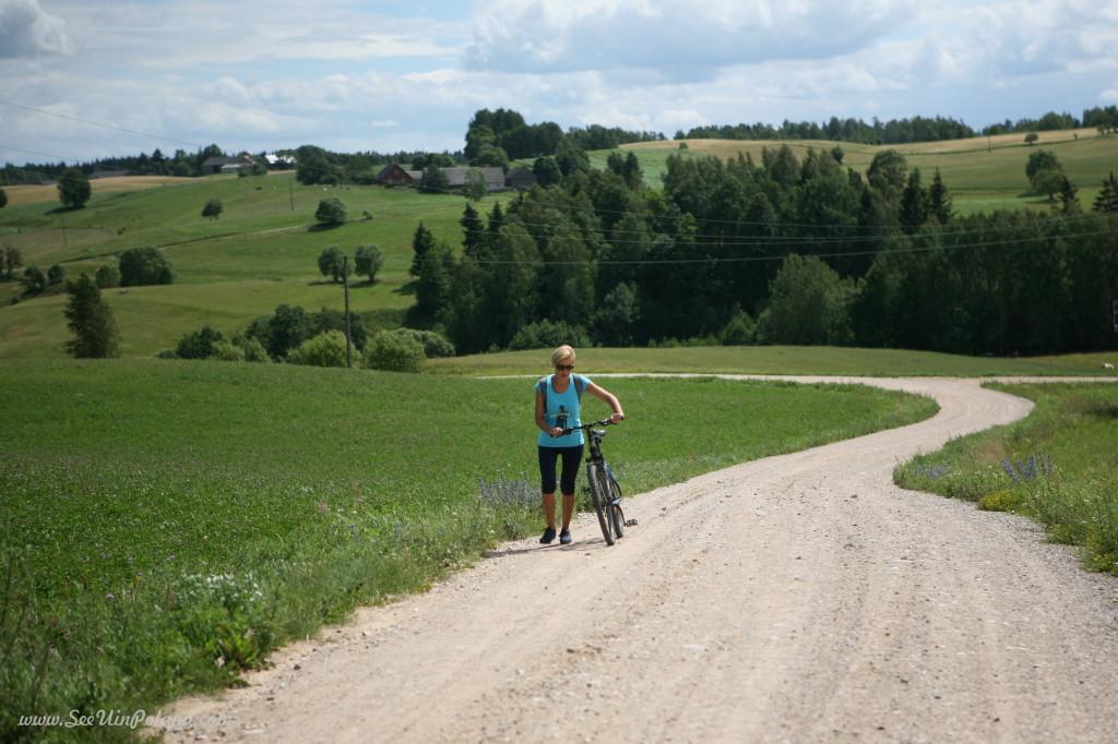 Suwalszczyzna Eastern Poland by bike Wiżajny