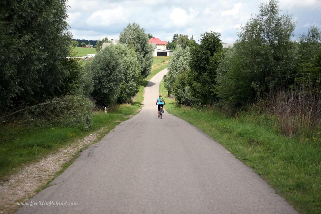 Suwalszczyzna na rowerze