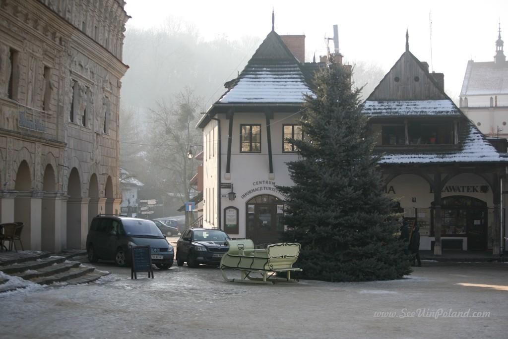 Kazimierz Dolny zimą