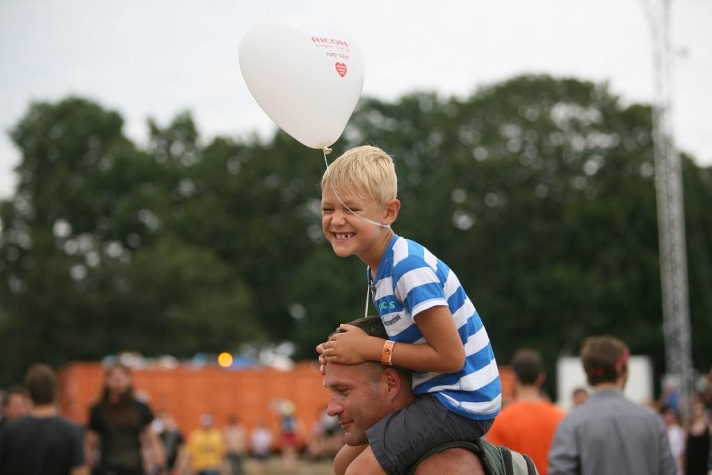 Przystanek Woodstock z dziećmi