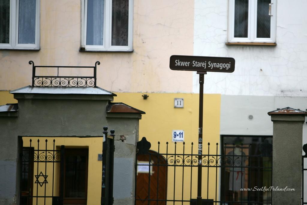 Tarnów Plac Starej Synagogi