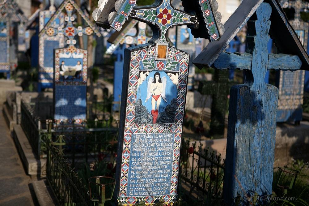 Sapanta Rumunia Wesoły Cmentarz Maramuresz